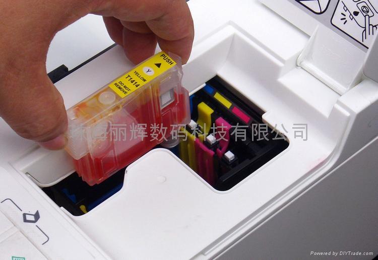 EPSON T1331-T1334填充墨盒 獨立式復位按鍵 5