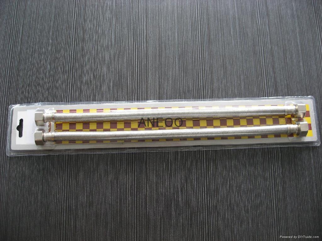 不鏽鋼絲編織軟管吸塑包裝長度30-60CM 1