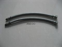 不锈钢丝编织软管龙头软管 M10*1加长1.7