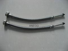 不锈钢丝编织软管 M10*1加长5