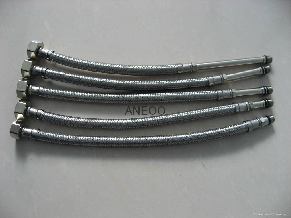 不锈钢丝编织软管 M10*1加长5 4