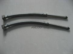 不锈钢丝编织软管 M10*1加长10