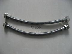 不鏽鋼紅藍絲編織軟管