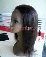 Full lace wigs with 100% Indian remy hair and full hand tied