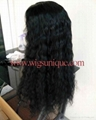 100% human hair full lace wigs  2