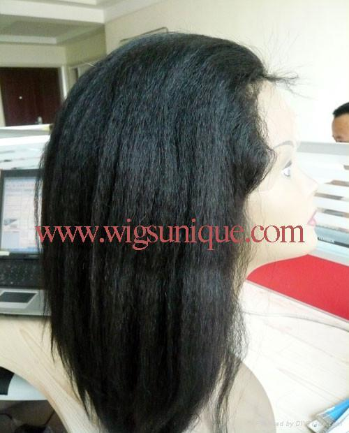 100% human hair lace wigs 1