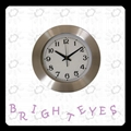 Metal wall clock 3