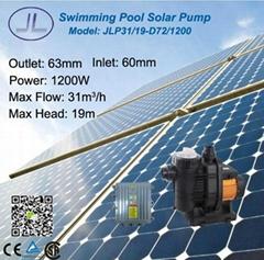 太陽能微系統游泳池泵1200W