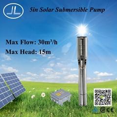 5寸 1000W  太阳能离心潜水泵