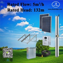 3kW 4inch Solar Power Pump, Borehole Well, Agricultural Pump System