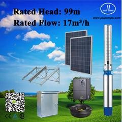 6inch Solar Power Submersible Pump, Irrigation Pump, Deep Well Pump System