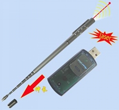 laser pointer with turn off function