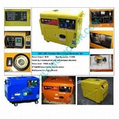 移动式风冷静音柴油发电机组