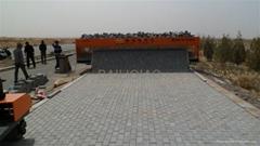 Brick Road Paving Machine