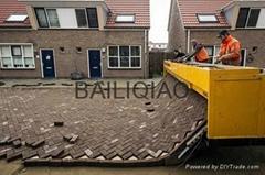 Brick road laying tiger stone