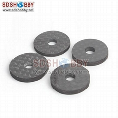6star 4PCS Carbon Fiber Washer 21*5*2.5mm/21*5*4mm #FP3075