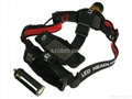 RJ0377 Q3 LED 3 Mode Headlamp 3