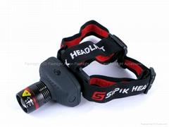 High Power Q3 LED Zoom Headlamp (TK27)