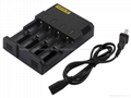 SYSMAX Ind. Intellicharge i4 Microcomputer Controlled Intelligent Charger Li-ion 1