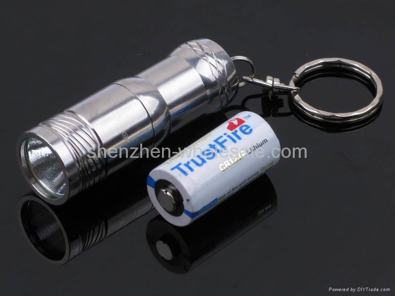 Trustfire Mini-01 Stainless Steel CREE XM-L T6 3-Mode 280-Lumen LED Keychain 1