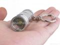 Trustfire Mini-01 Stainless Steel CREE XM-L T6 3-Mode 280-Lumen LED Keychain 3
