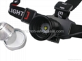 XM-L T6 LED HeadLight HeadLamp 18650 3