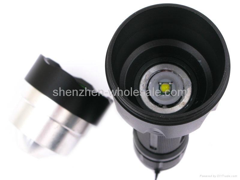 Oeagles CREE XM-L T6 LED 5-Mode Flashlight -Black 5