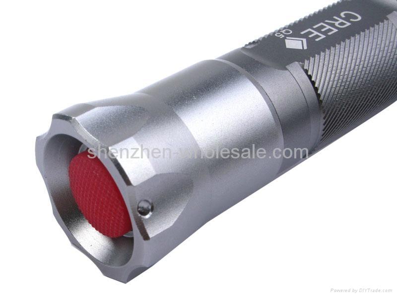 UranusFire WF-901 CREE Q5 LED 5-Mode Flashlight Torch 2
