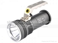 Smiling Shark SS-F008 CREE R5 LED 250 lm 4 Mode Rechargeable Flashlight Hand-hel 1