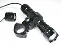 Set UltraFire WF-501B Tactical Light Best Tactical LED Flashlight  2