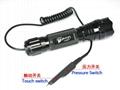 Set UltraFire WF-501B Tactical Light Best Tactical LED Flashlight  3