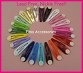 5.0cm 4.0cm colorful drop tear metal snap clips with pad  Handmade baby boutique 1
