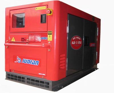 巨电柴油豪华静音型发电机 1