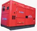 巨电柴油豪华静音型发电机