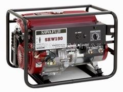 日本泽藤本田SAWAFUJI汽油发电电焊机SHW190HB