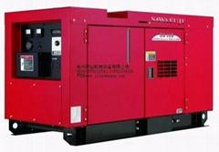 日本澤藤SAWAFUJI柴油豪華靜音型發電機SHT15D