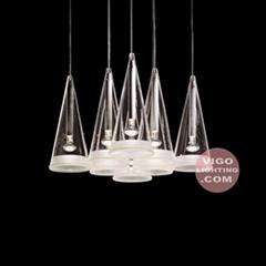 現代布罩蠟燭燈