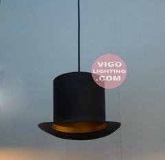 绅士帽吊灯