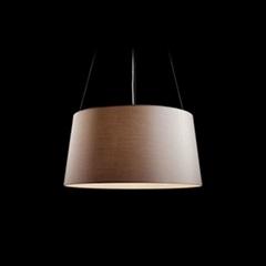 Fabric pendant lamp A101