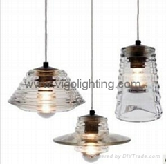Glass pendant lamp B601