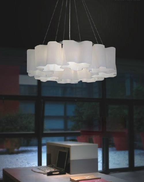 Glass pendant lamp B602 2