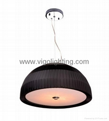 fabric pendant lamp V112