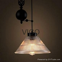 GLASS PENDANT LAMP  AMER