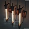 歐式鐵藝壁燈