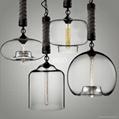CLASSIC LAMP   GLASS PENDANT LAMP