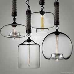 CLASSIC LAMP   GLASS PE