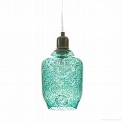 GLASS PENDANT LAMP  EUR