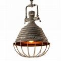 AMERICAN STYLE  METAL ART LAMP