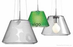 MODERN   GLASS PENDANT LAMP