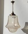 AMERICAN STYLE  GLASS PENDANT LAMP